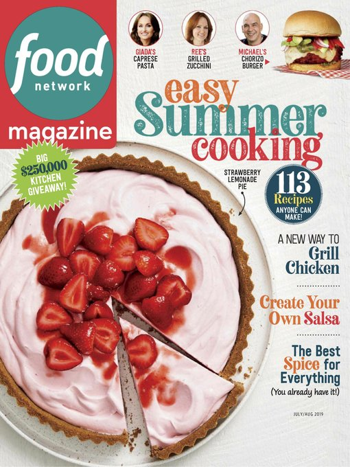 Title details for Food Network Magazine by Hearst magazines - Available