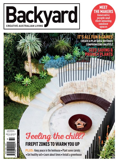 Title details for Backyard & Garden Design Ideas by Universal Magazines -  Available - Backyard & Garden Design Ideas - The Ohio Digital Library - OverDrive