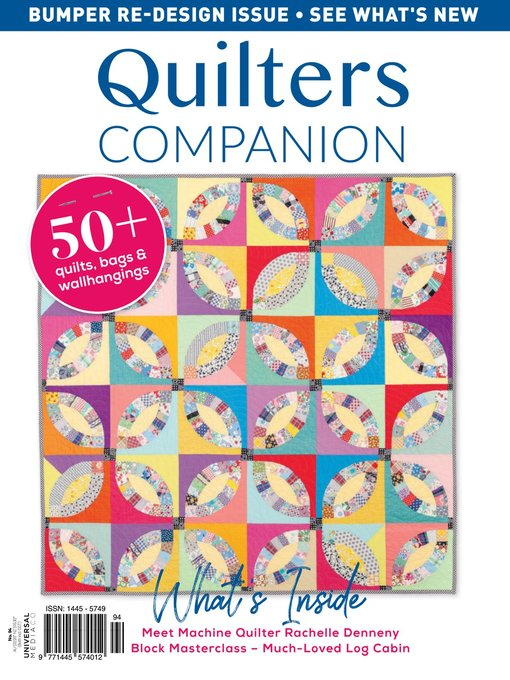 Title details for Quilters Companion by Universal Magazines - Available