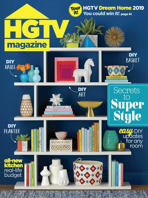 Title details for HGTV Magazine by Hearst magazines - Available