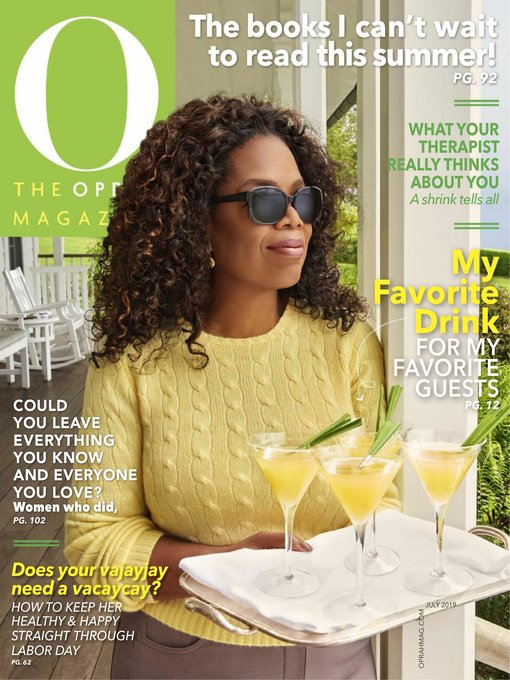Title details for O, The Oprah Magazine by Hearst magazines - Available