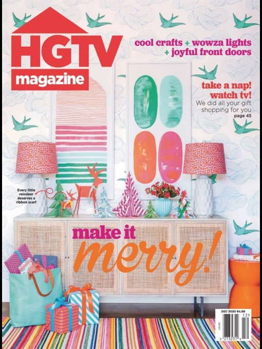 Title details for HGTV by Hearst Magazines - Wait list