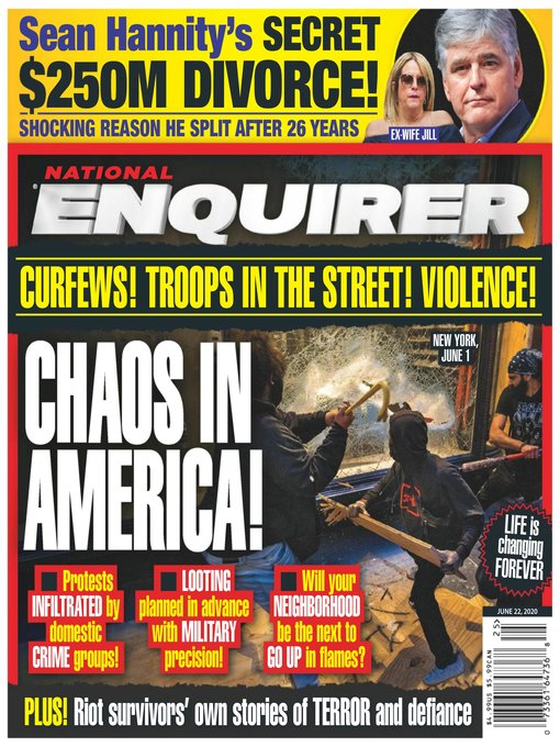 Title details for National Enquirer by American Media, Inc. - Available