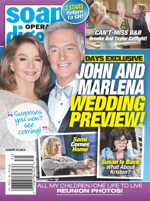 Soap Opera Digest - Maryland's Digital Library - OverDrive