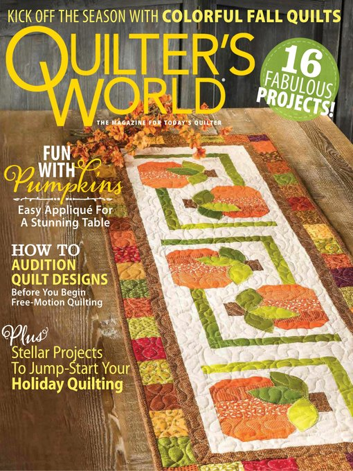 Title details for Quilter's World by Annie's - Available