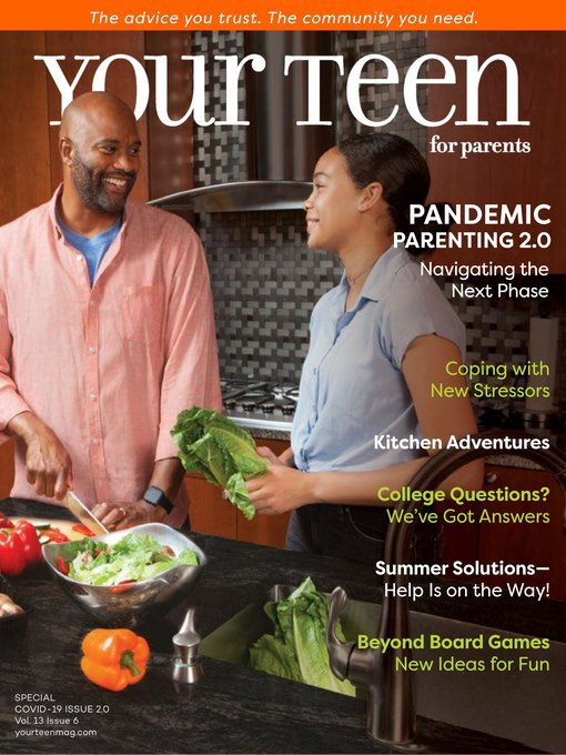 Title details for Your Teen Magazine for Parents by Your Teen Magazine - Available