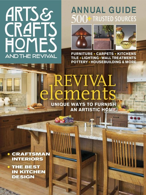 Le Details For Arts And Crafts Homes By Active Interest Media Available
