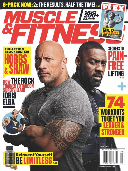 Title details for Muscle & Fitness by American Media, Inc. - Available