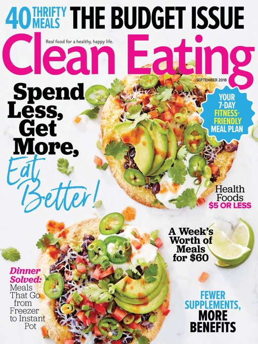 Clean Eating - Maryland's Digital Library - OverDrive