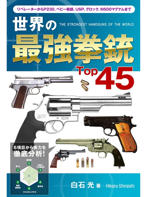Title details for 世界の最強拳銃Top45: 本編 by 白石光 - Wait list