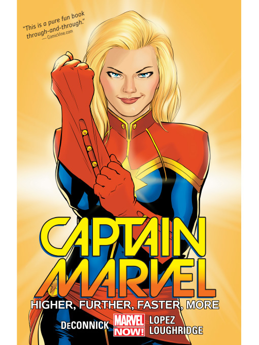 Cover of Captain Marvel (2014), Volume 1