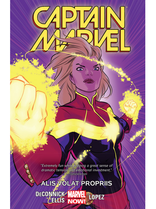 Title details for Captain Marvel (2014), Volume 3 by Kelly Sue DeConnick - Wait list