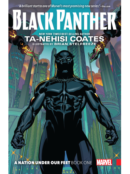 Cover of Black Panther (2016), Volume 1
