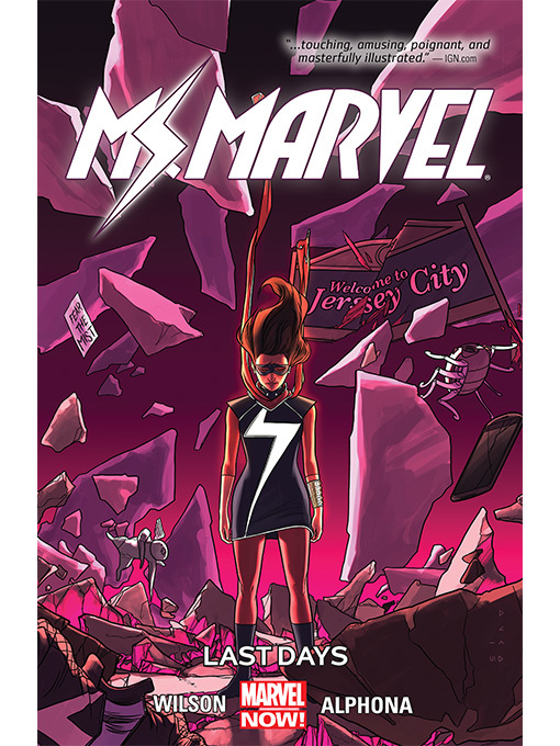 Cover of Ms. Marvel (2014), Volume 4