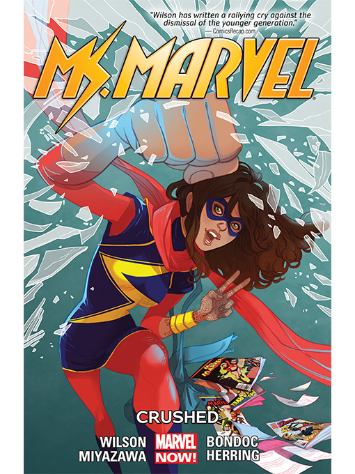 Cover of Ms. Marvel (2014), Volume 3