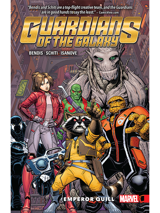 Cover of Guardians of the Galaxy (2016): New Guard, Volume 1