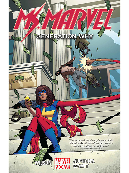 Cover of Ms. Marvel (2014), Volume 2