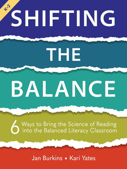 Title details for Shifting the Balance by Jan Burkins - Wait list
