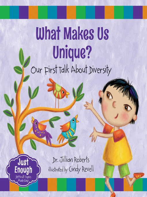 Cover image for book: What Makes Us Unique?