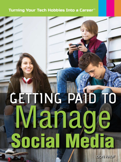Cover of Getting Paid to Manage Social Media