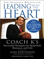 Click here to view eBook details for Leading with the Heart by Mike Krzyzewski