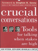 Click here to view Audiobook details for Crucial Conversations by Kerry Patterson