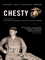 Click here to view eBook details for Chesty by Jon T. Hoffman