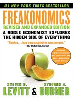 Click here to view eBook details for Freakonomics by Steven D. Levitt