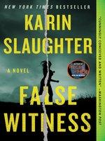 Cover of False Witness