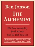 the alchemist british heritage database reader printable edition  the alchemist british heritage database reader printable edition explanatory notes by ben jonson · rakuten ebooks