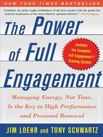 The Power Of Full Engagement Epub