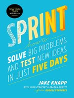 Click here to view eBook details for Sprint by Jake Knapp