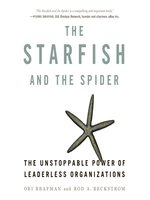 Click here to view Audiobook details for The Starfish and the Spider by Ori Brafman