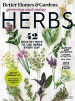 Cover of Better Homes & Gardens Growing and Using Herbs