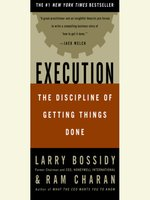 Click here to view Audiobook details for Execution by Larry Bossidy