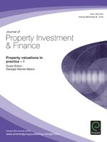 Journal of Property Investment & Finance, Volume 34, Issue 6