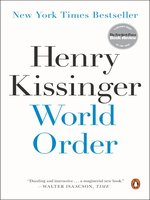 Click here to view eBook details for World Order by Henry Kissinger
