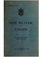 How we cook in Canada