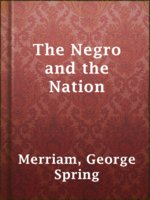 The Negro and the Nation