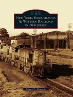 New York, Susquehanna & Western Railroad in New Jersey