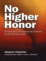 Click here to view eBook details for No Higher Honor by Bradley  Peniston