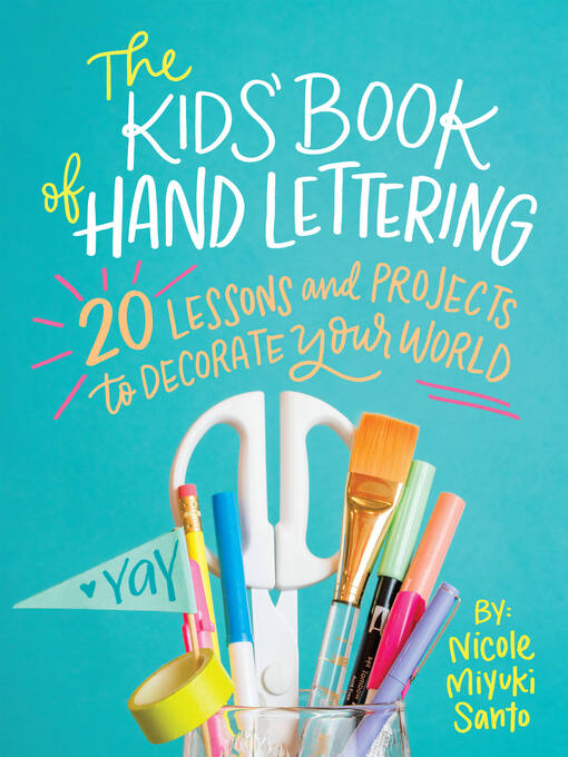 Cover image for The Kids' Book of Hand Lettering