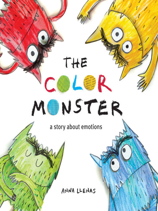 Cover image for The Color Monster