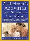 Alzheimer's activities that stimulate the mind [eBook]