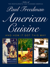 Cover image for American Cuisine