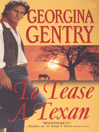 Cover image for To Tease A Texan