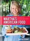 Cover image for Martha's American Food