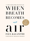 Cover image for When Breath Becomes Air