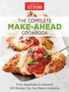 Cover image for The Complete Make-Ahead Cookbook