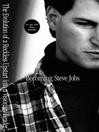 Cover image for Becoming Steve Jobs